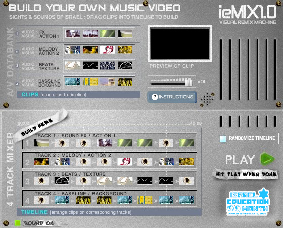 ieMix Mixing Interface