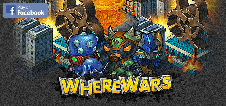 Play WhereWars on Facebook